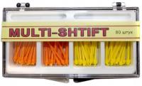 Штифты беззольные Рудент Multi-Shift (желтые и оранжевые, 80 шт)
