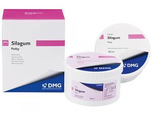 А-силиконовый оттискный материал DMG Silagum Putty Standart (2x262 мл)