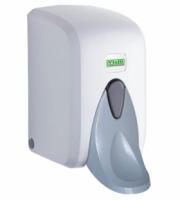 Диспенсер VIALLI для пенного мыла с резервуаром 500 мл (белый)