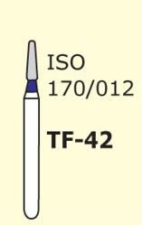 Бор конус с плоским концом Mani TF-42 3 шт