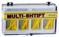 Штифты беззольные Рудент Multi-Shift (желтые)