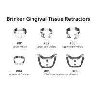 Набор кламмеров для сильно разрушеных зубов Hygenic Brinker Clamps
