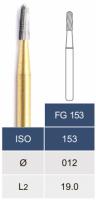 Коронковая пила (бор) Microdont FG 153 (карбибная, 1.2 мм)