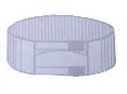 Пояс рентгенозащитный KRAS с двойной застежкою (40х110 см)