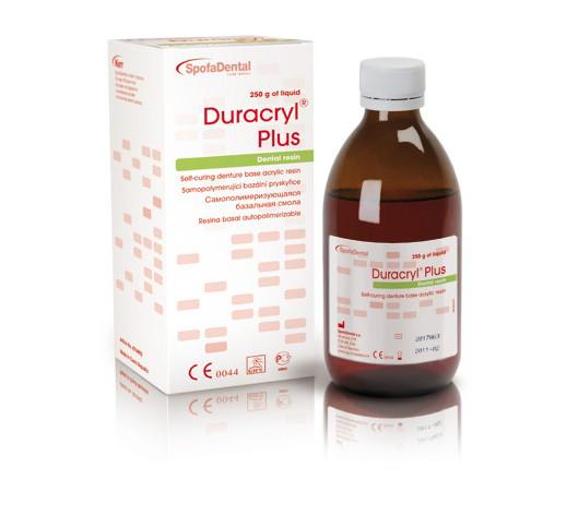 Самополимеризующаяся базисная пластмасса Spofa Duracril Plus (жидкость 250 мл)