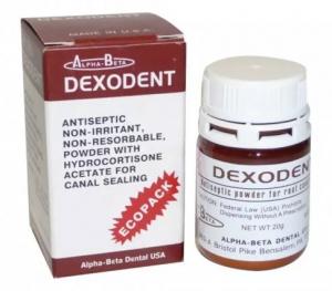 Антисептический порошок ALPHA-BETA Dexodent Ecopack