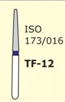Бор конус с плоским концом Mani TF-12 3 шт