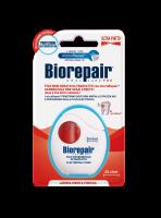 Расширающая зубная нить-флосс Biorepair Избавление от чувствительности с гидроксиапатитом и цинком РСА (30 м)