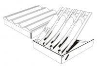 Подставка для наконечников (без инструментов)