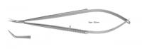 Ножницы микрохирургические, десны MS-160-45, изогнутые (YDM)