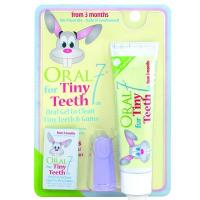 Детский набор Oral Seven Tiny Teeth 55g/48ml + fingerbrush (5060224500095)