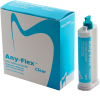 Оттискной материал Mediclus ANY-FLEX CLEAR (2х50 мл)