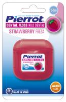 Зубная нить Pierrot клубника 50 м Ref.43 (8411732000435)