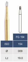 Коронковая пила (бор) Microdont FG 154 (карбидная, 0.9 мм)