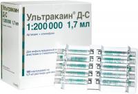 Ультракаин Д-С (Ultracain) в карпулах