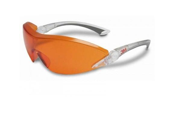 Стоматологические очки защитные ЗМ 2846 (красно оранжевые)