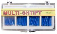 Штифты беззольные Рудент Multi-Shift (синие)