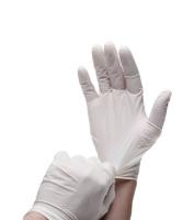 Перчатки Prestige Medical латексные опудренные 100 шт