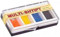 Штифты беззольные Рудент Multi-Shift (синие, черные, оранжевые, желтые)