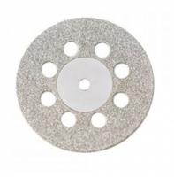Алмазный диск Microdont 22/8 мм (двухсторонний, с перфорацией, средняя абразивность) ref.40.607.006