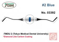 Гладилка YDM TMDU2 № 2 (для композитов, голубая ручка, 0,1 мм)