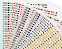 Индикаторы Бел-Медикон 134/5 (универсальные, паровые, многопараметренные, химические для контроля стерилизации, 1000 штук)