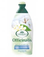 Гель для душа и ванны L'Angelica Бархатный с белым мускусом и хлопком