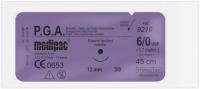 Шовный материал Medipac PGA (Полигликолевая кислота)
