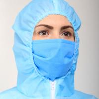 Трехслойная маска (синяя)