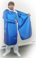 Халат рентгенозащитный со съемными рукавами ОНИКО Х (максимальный запах)