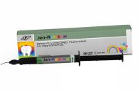 Текучий реставрационный композит с эффектом жемчужного блеска Jendental Jen-Rainbow