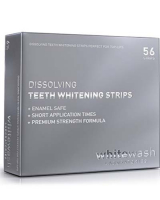 Растворимые отбеливающие полоски WhiteWash Laboratories Dissolving Teeth Whitening Strips (DW-01)