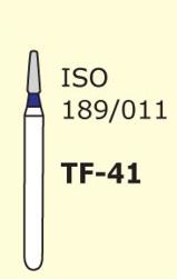 Бор конус с плоским концом Mani TF-41 3 шт