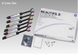 Композит Shofu BEAUTIFIL 6 Color Set Набор 6х4,5 гр