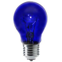 Лампа синяя Viola 230В-60Вт Е27 (для теплового излучения)