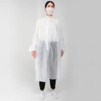 Одноразовый 2-слойный халат (белый, не ламинированный)