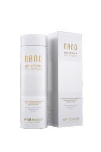 Отбеливающий ополаскиватель для полости рта WhiteWash Nano Whitening Mouthwash With Hydroxyapatite 300 мл (NM-01)