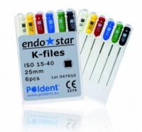 К-файлы Poldent Endostar K-Files (28 мм)