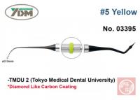 Гладилка YDM TMDU2 № 5 (для композитов, желтая ручка, 0,9 мм)