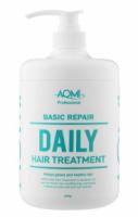 Маска для волос с экстрактом зеленого чая и алоэ вера AOMI Basic Repair Daily Treatment (1000 мл) (8809631870509)