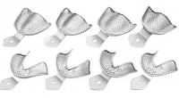 Набор слепочных ложек перфорированных для беззубой челюсти ASIM DE-1753