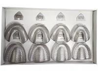 Набор слепочных ложек перфорированных для беззубой челюсти ASIM DE-1754