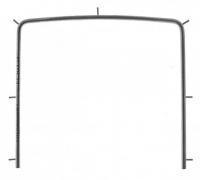 Рамка для раббердама Asim DE-1143-05