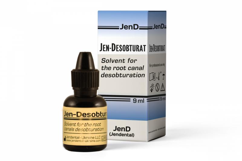 Растворитель для дезобтурации корневых каналов Jendental Jen Desobturat
