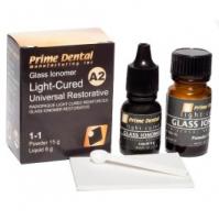 Светоотверждаемый цемент  Prime Dental GLASS IONOMER LC