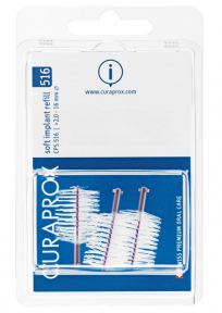 Набор ершиков для имплантов Curaprox soft implant CPS 516