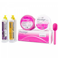 Оттискной материал Vannini Dental Prestige Putty 2х450 г, Hydrolight 50 мл, Regular 50 мл