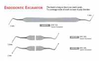 Экскаватор эндодонтический Osung EXC-L-SET (набор - 3 шт.) (двухсторонний)