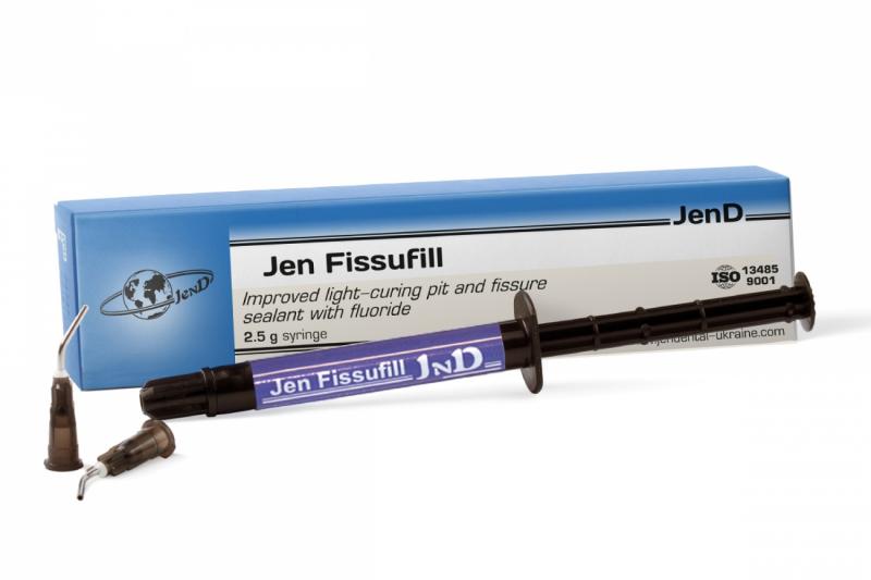 Композитный материал для запечатывания фиссур Jendental Jen-Fissufil