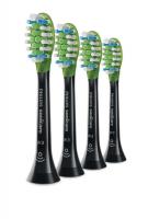 Сменные насадки для звуковой зубной щетки PHILIPS W3 Premium (4 шт)
